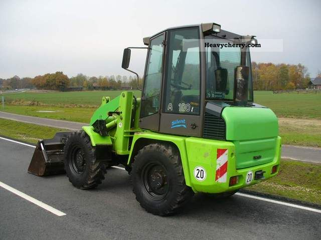 2000 Ahlmann  AL / AL 100T 4in1 bucket (shovel) Construction machine Wheeled loader photo