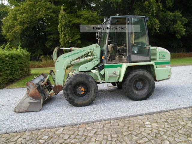 2000 Ahlmann  AS 90 Construction machine Wheeled loader photo