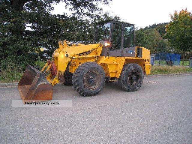 1999 Ahlmann  AS14 Schwenklader Construction machine Wheeled loader photo