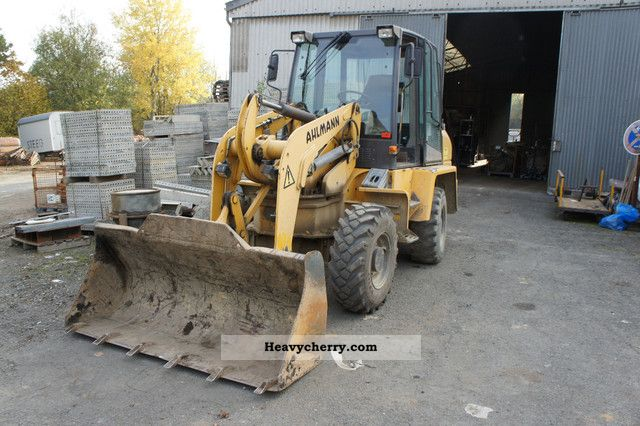 2007 Ahlmann  AS70 Construction machine Wheeled loader photo