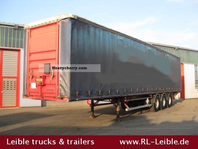 1995 Benalu  Tautliner!! Standard!! Semi-trailer Stake body and tarpaulin photo