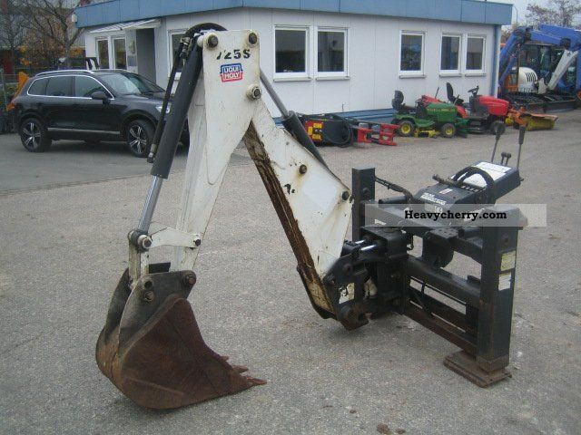 2001 Bobcat  Backhoe 725 S W / H Construction machine Other substructures photo
