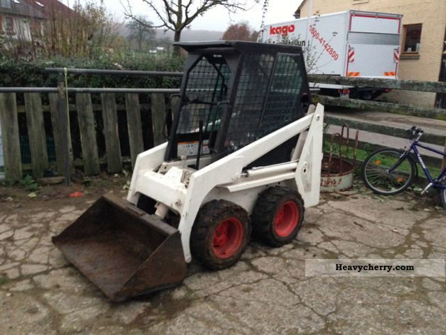 2012 Bobcat  310 gasoline! new engine! Construction machine Wheeled loader photo