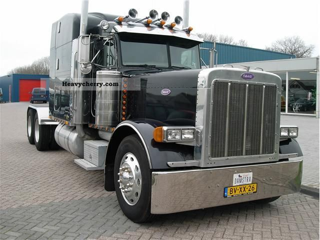 Peterbilt 379 2001 Standard Tractor Trailer Unit Photo And