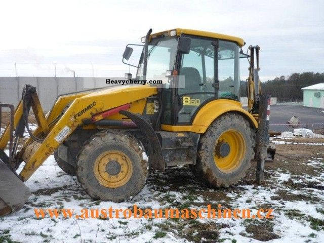 2002 Fermec  860 Construction machine Combined Dredger Loader photo