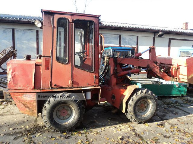 1993 Weidemann  3002 Agricultural vehicle Front-end loader photo