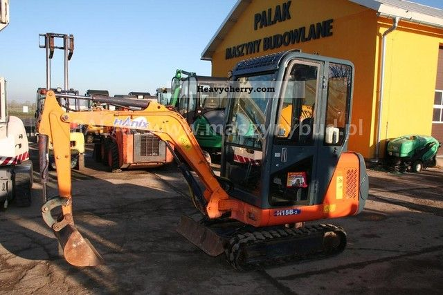 2003 Hanix  MINI KOPARKA HANIX H15-B 2003R NEVER JCB CAT VOLVO Construction machine Mini/Kompact-digger photo