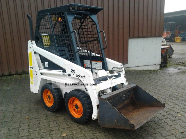 1992 Bobcat  440 B Construction machine Mini/Kompact-digger photo