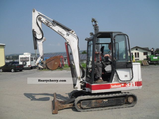 Bobcat 331, 3.2 tons 1995 Mini/Kompact-digger Construction ...