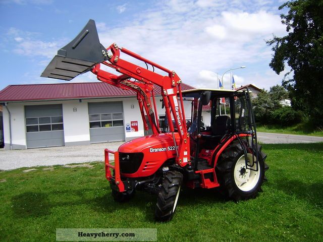 2012 Branson  5220 Agricultural vehicle Tractor photo