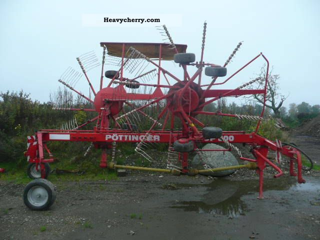 2000 Pottinger  Pöttinger Seitenschwader Top 800 Agricultural vehicle Harrowing equipment photo