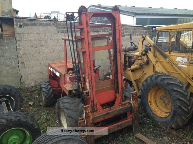 1991 Manitou  MANITOU MC 50 B Forklift truck Rough-terrain forklift truck photo