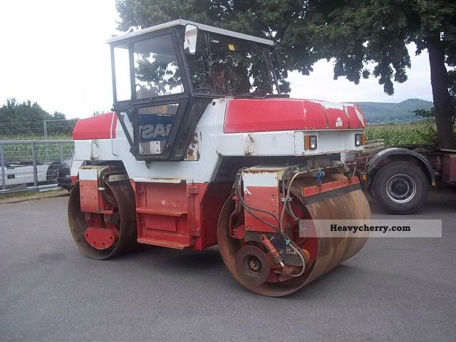 1995 Ammann  DTV 366N 903 with edger Construction machine Rollers photo