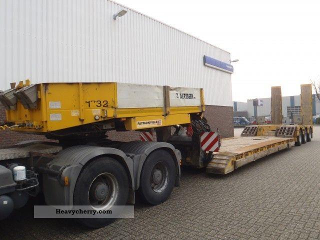 2003 Faymonville  STBZ-3VA Heavy Load Handling Semi-trailer Low loader photo