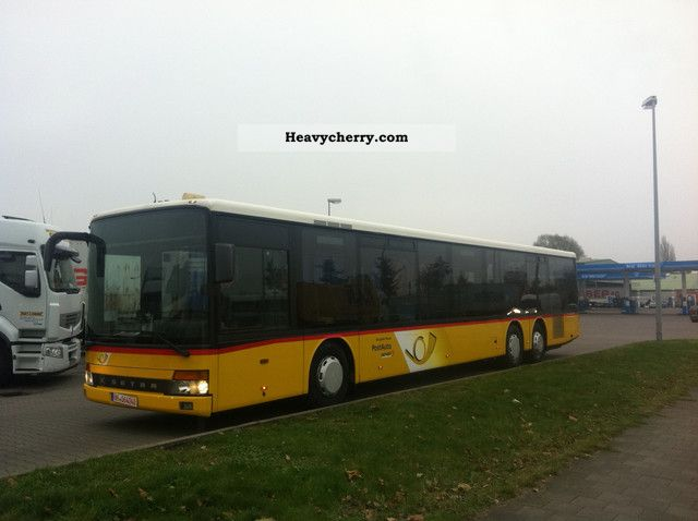 2000 Setra  319 NF, UL EURO 2 Coach Public service vehicle photo
