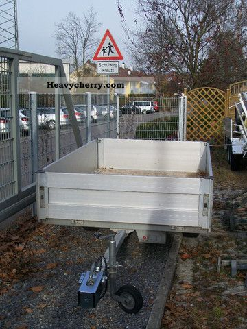 2003 Auwarter  Auwärter aluminum side panels Trailer Trailer photo
