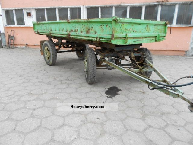 1980 Fortschritt  IFA HL THK Solnica PL Agricultural vehicle Loader wagon photo