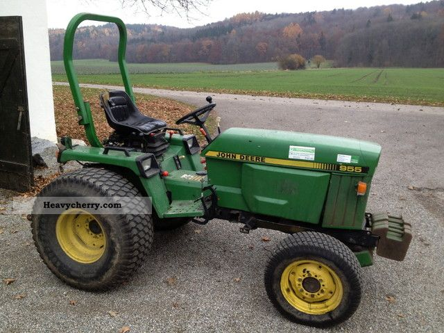 John Deere 955 1995 Agricultural Tractor Photo And Specs