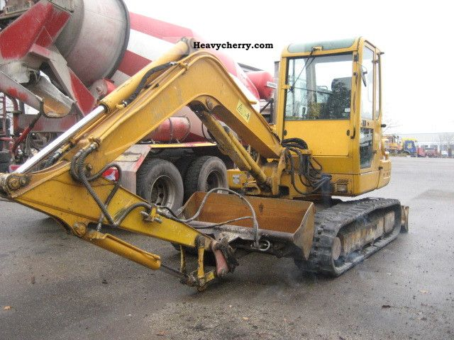 Yanmar B 50 2 B 2000 Mobile Digger Construction Equipment
