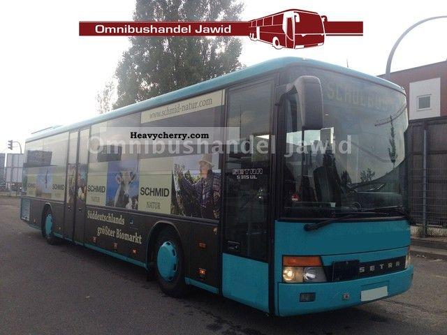 2000 Setra  S 315 UL German automotive air Coach Public service vehicle photo