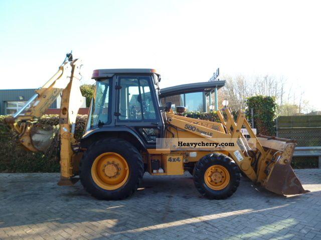 2001 Case  580SLE Construction machine Combined Dredger Loader photo
