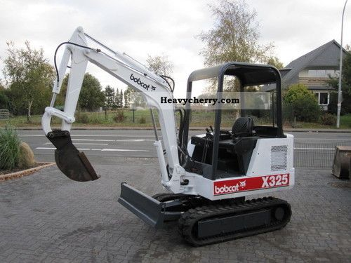 2012 Bobcat  325 Mini Excavator Construction machine Mini/Kompact-digger photo