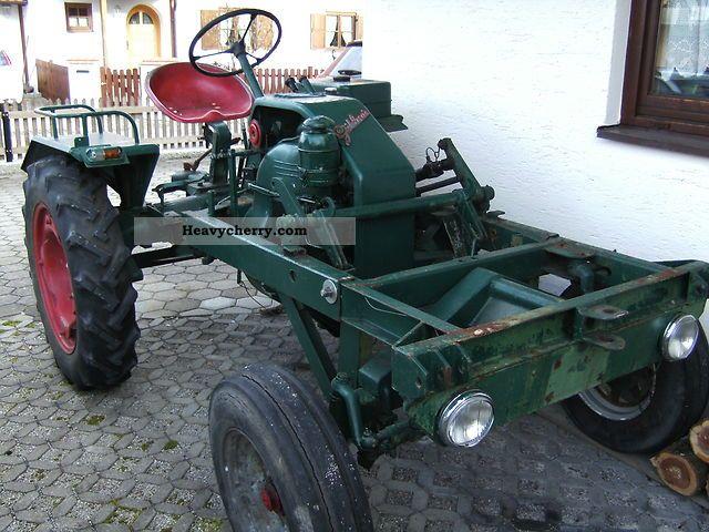 1956 Guldner  Güldner equipment rack type 517h Agricultural vehicle Tractor photo