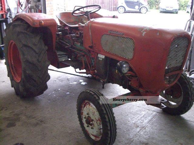 1959 Guldner  Güldner A2DL-Heckhydr.-Zapfw.-Schnellg. Agricultural vehicle Tractor photo