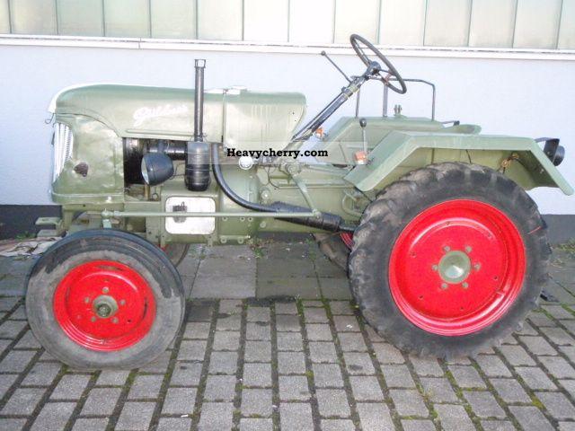 1954 Guldner  Güldner ADN 16 8K Agricultural vehicle Tractor photo