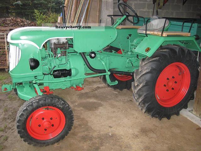 1958 Guldner  Güldner ALD 10 W Agricultural vehicle Tractor photo