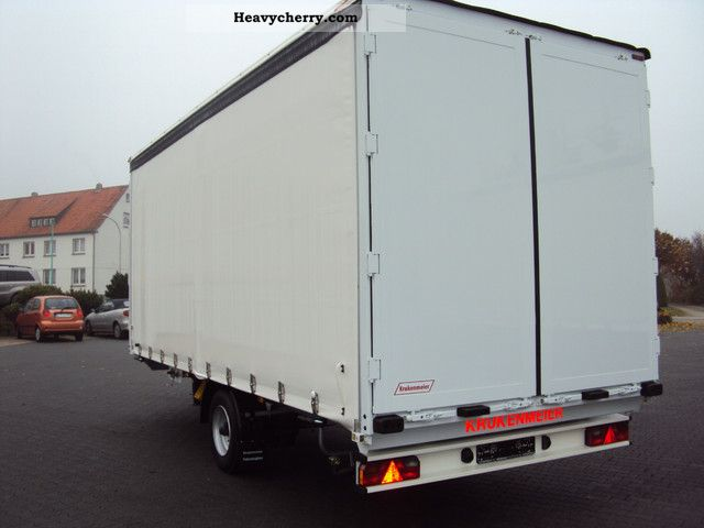 Single Axle Trailer Specs : Krukenmeier single axle elps new tilt through loader