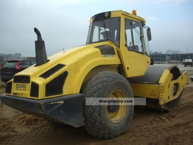 2009 BOMAG  BW213 D-4 Smooth and sheep foot drum! Construction machine Rollers photo