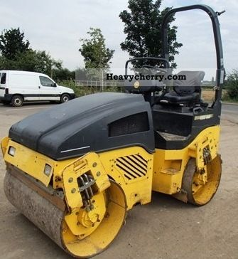 2008 BOMAG  BW 125 AD-4 - 3150 kg Construction machine Rollers photo