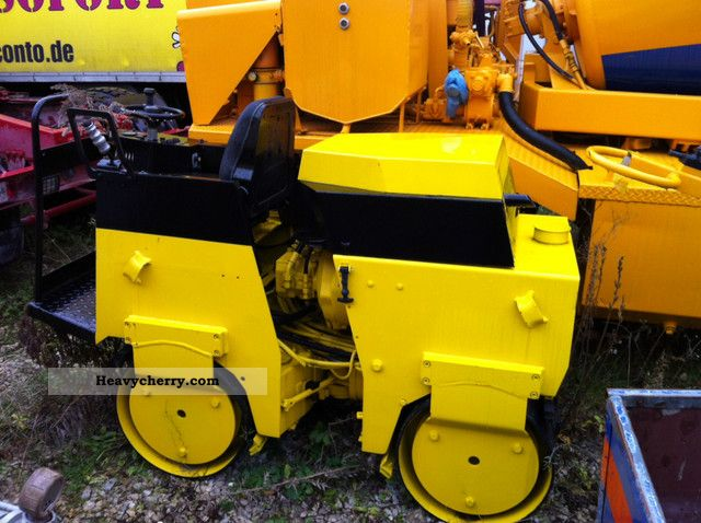 1986 BOMAG  75 Construction machine Rollers photo