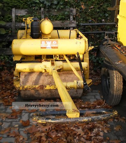 1965 BOMAG  BW 90 Construction machine Rollers photo