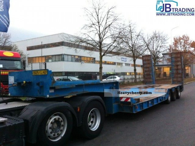 1986 Kaiser  dieplader Semi-trailer Low loader photo