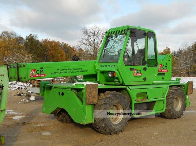 2000 Merlo  ROTO 30.16 EVS, winch Forklift truck Telescopic photo