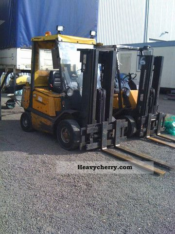 1991 Jungheinrich  TFG 25 TE / gas Forklift truck Front-mounted forklift truck photo