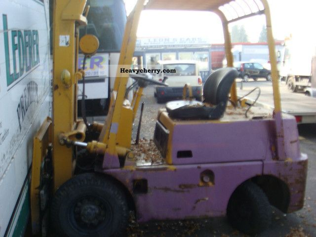 1996 Toyota  2.5 Forklift truck Front-mounted forklift truck photo