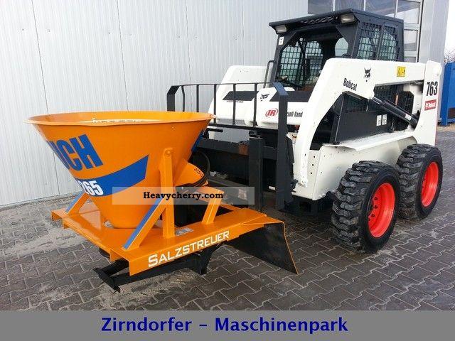 2003 Bobcat  Salt shaker / grit spreaders - Hydraulic! Construction machine Mini/Kompact-digger photo