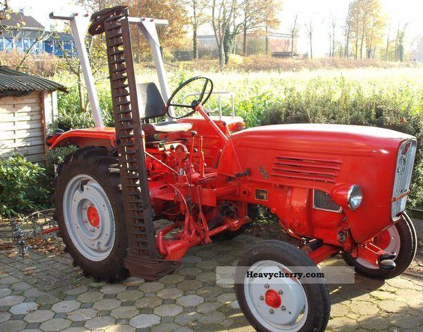 1965 Guldner  Guldner G 15 Agricultural vehicle Tractor photo