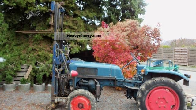1957 Guldner  Güldner D 88 Agricultural vehicle Tractor photo