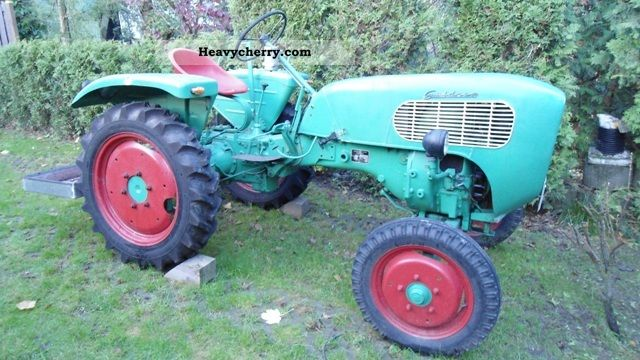 1959 Guldner  Güldner A X 7 W Agricultural vehicle Tractor photo