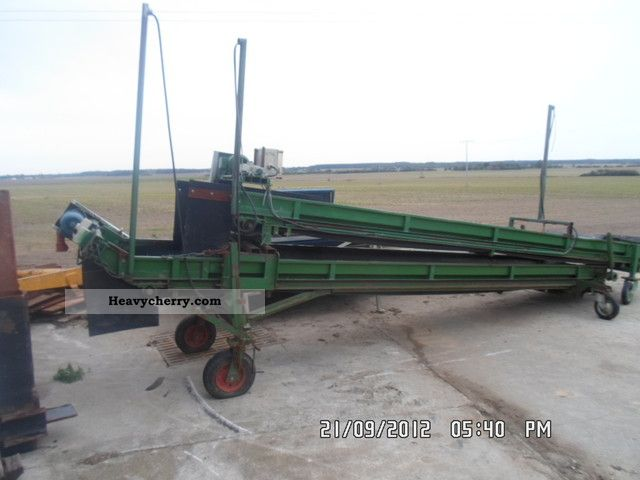 1992 Grimme  Visser conveyor duo Agricultural vehicle Other agricultural vehicles photo
