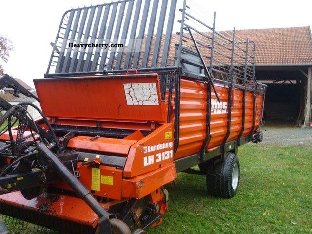 Landsberg lh 3131 1989 agricultural harvesting machine - Landsberg mobel ...