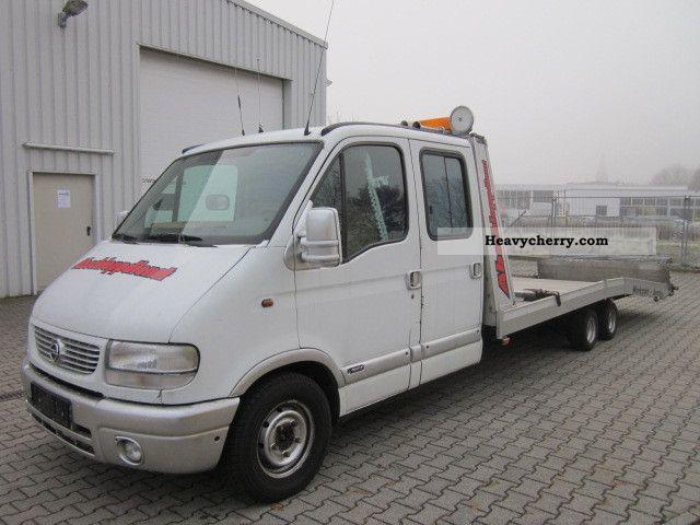 1999 Opel  movano Van or truck up to 7.5t Breakdown truck photo