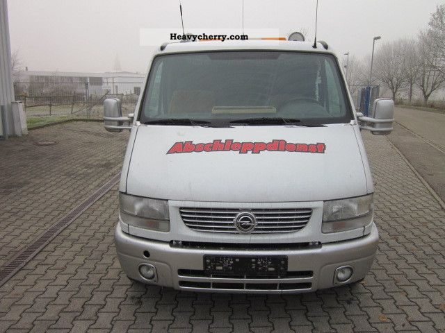 opel movano 1999 breakdown truck photo and specs. Black Bedroom Furniture Sets. Home Design Ideas