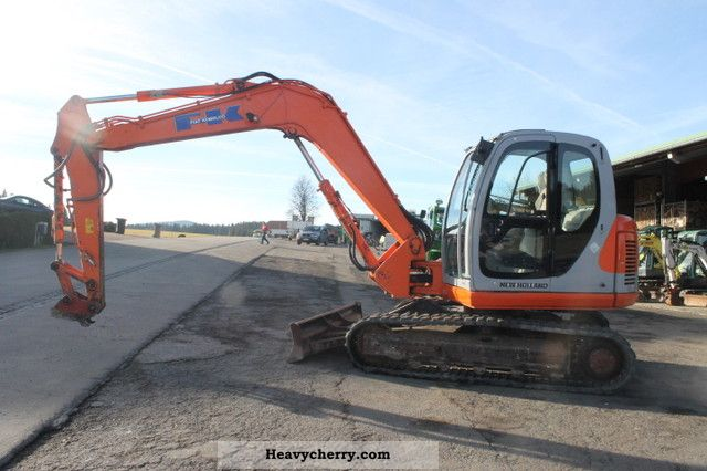 2004 Kobelco  Fiat E80 SRM Construction machine Mini/Kompact-digger photo