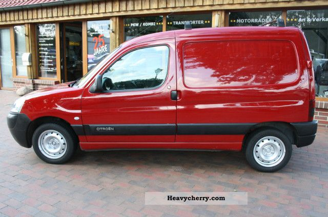 citroen citro n berlingo 2004 box type delivery van photo. Black Bedroom Furniture Sets. Home Design Ideas