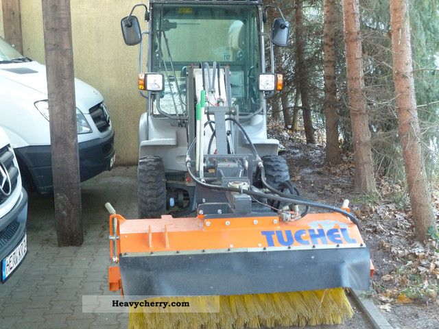 2012 Kramer  350 Winter Road, brush, spreader 66 hours since 2x Construction machine Other substructures photo